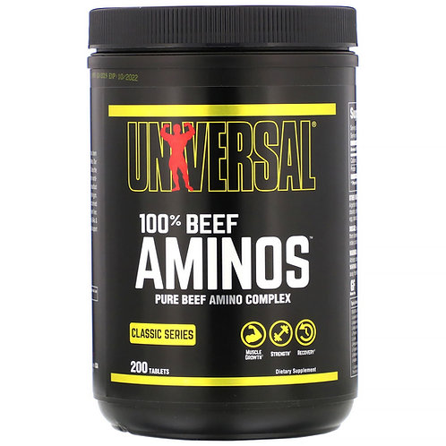 Universal Beef Amino (200tabs)