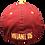 Thumbnail: MUTANT BIOHAZARD - BURGUNDY BASEBALL CAP