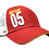 Thumbnail: Mutant 05 Red Truckers Snap Cap