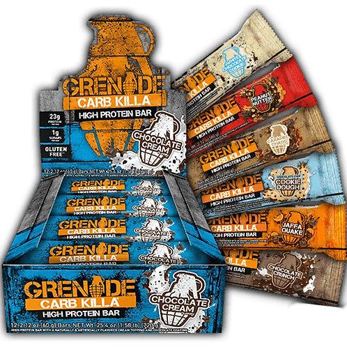 Grenade Carb Killa Bars 60g (Each Bar)