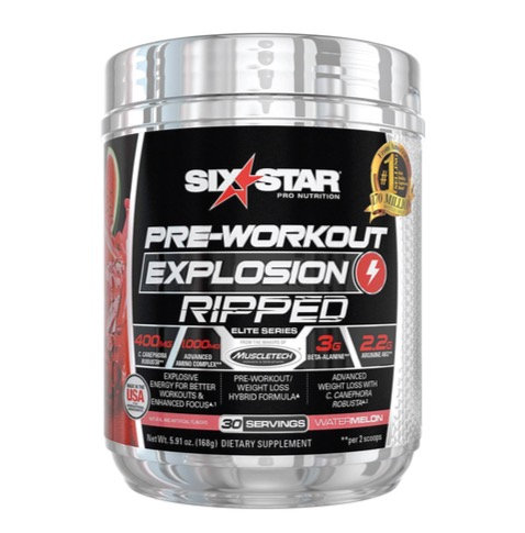 Six Star Pre Workout Explosion Ripped (30servings)