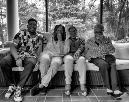 Whoopie Goldberg and Redding Family