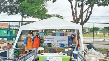 Lançamento do novo Ecoponto do Jardim Botânico