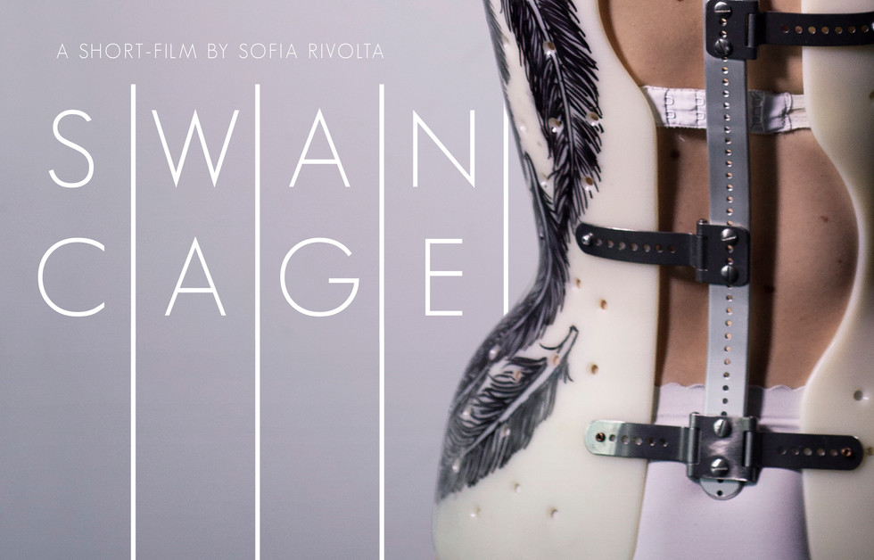 'SWAN CAGE' SHORT FILM POSTER