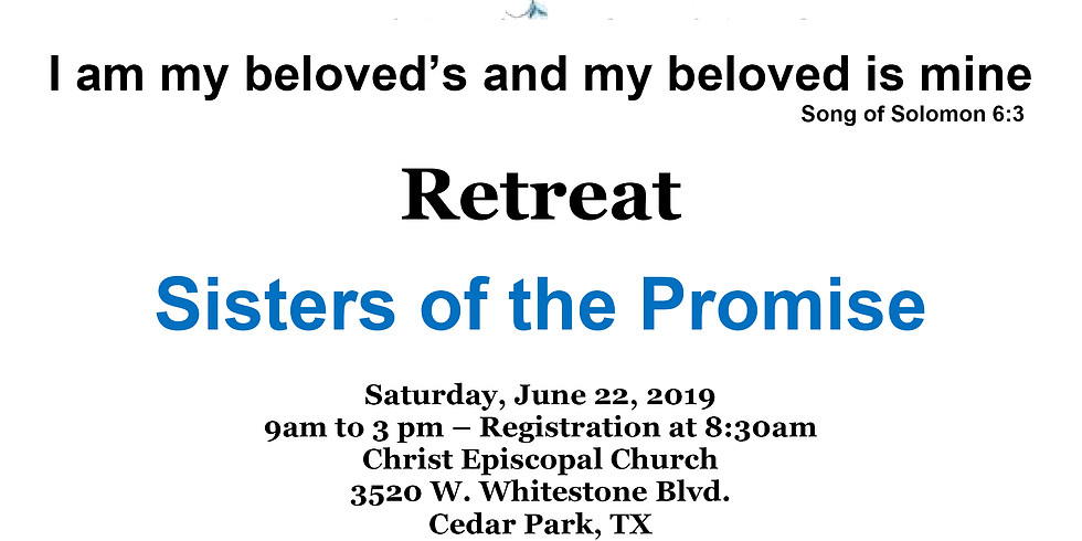 2019 Women's Retreat: Sisters of the Promise