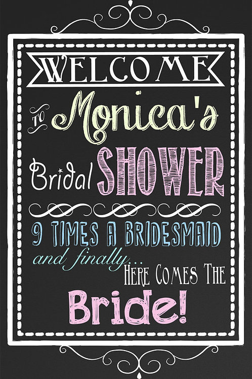 Finally A Bride Sign