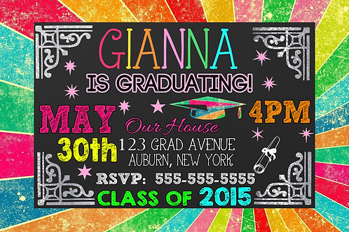 Glow in the dark Graduation