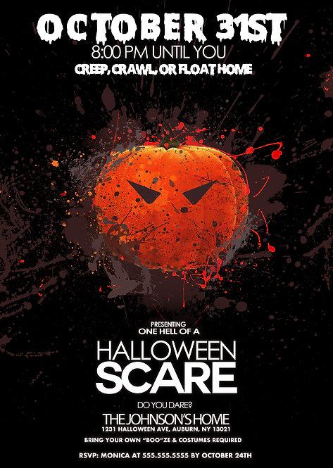 Pumpkin Halloween Scare