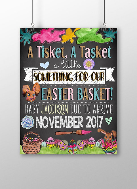 Our Easter Basket Announcement