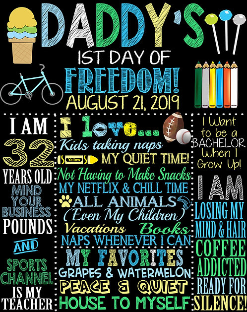 Dads 1st day of Freedom