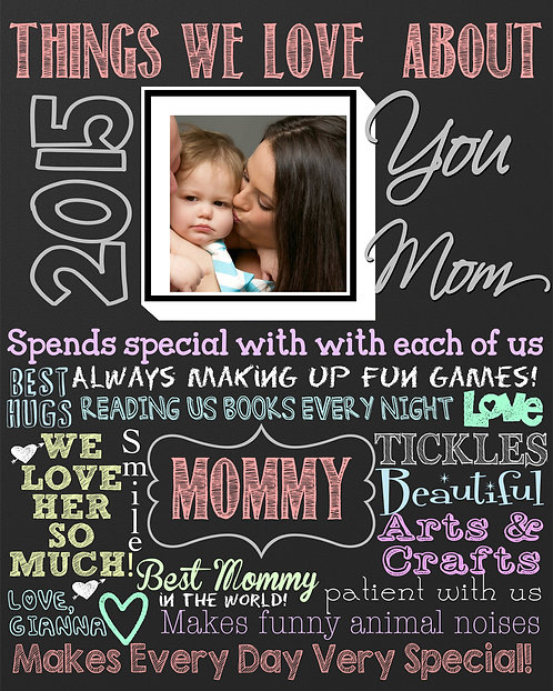 What we love about Mommy