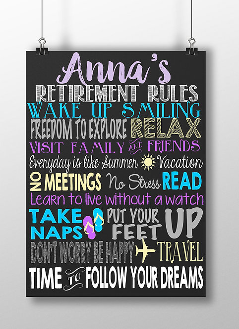 Retirement Rules Purple