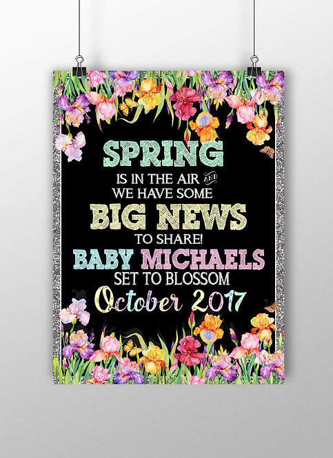 Spring Pregnancy Sign