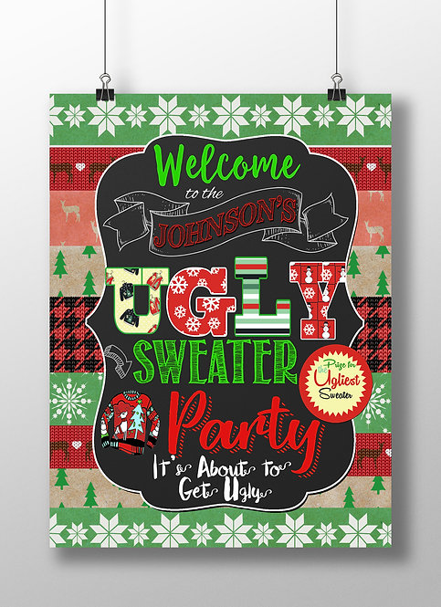Ugly Sweater Welcome & Vote