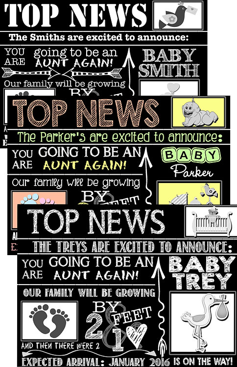 Top News Pregnancy Announce