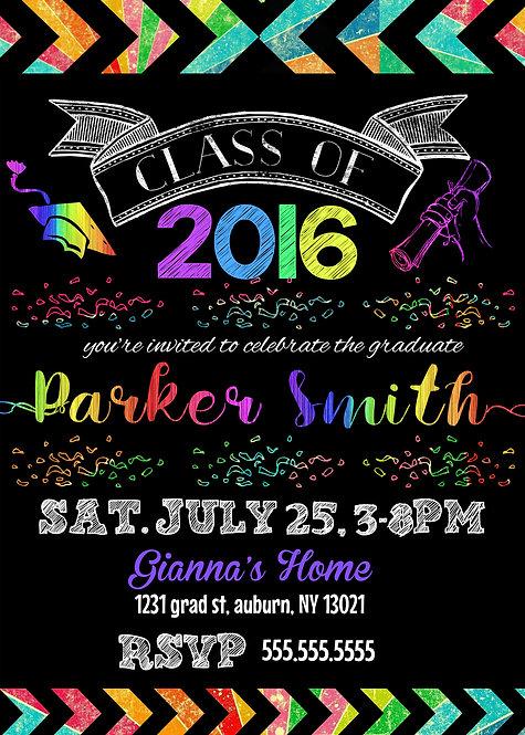 Rainbow Graduation