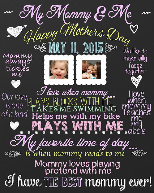 My Mommy & Me Sign