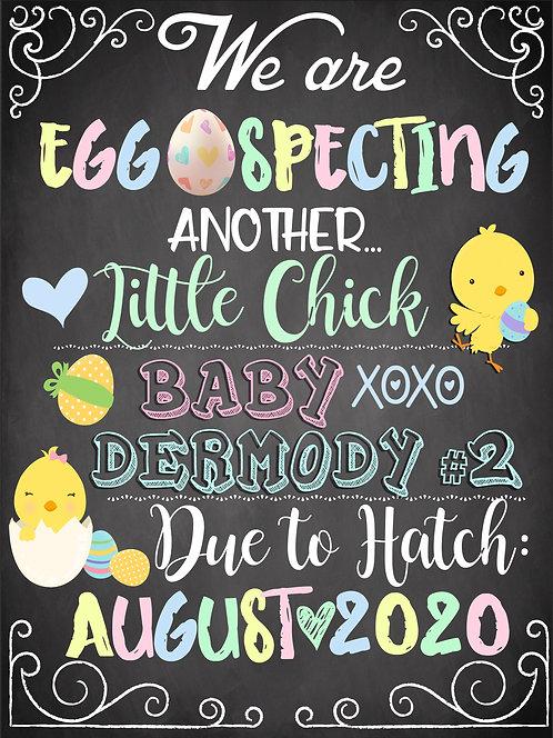 Eggspecting Pregnancy Announce