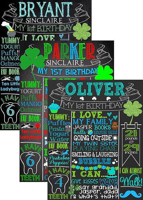 St Patricks birthday