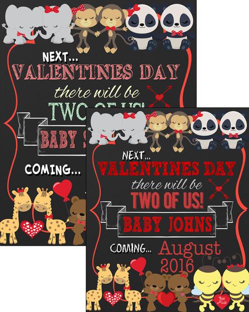 Cute Valentines Pregnancy Announcement