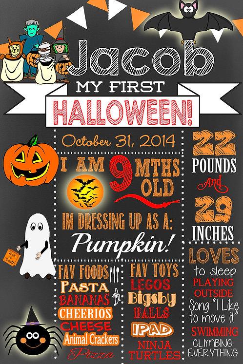 Halloween milestone