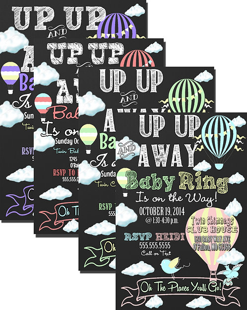 Up Up & Away Baby on the way!