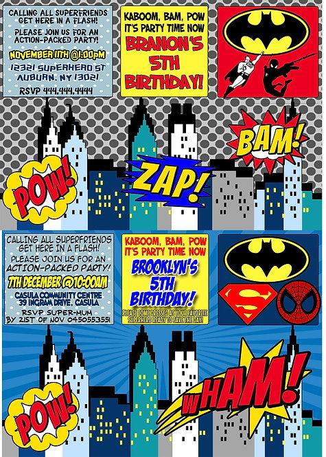 Batman & Other Superheros
