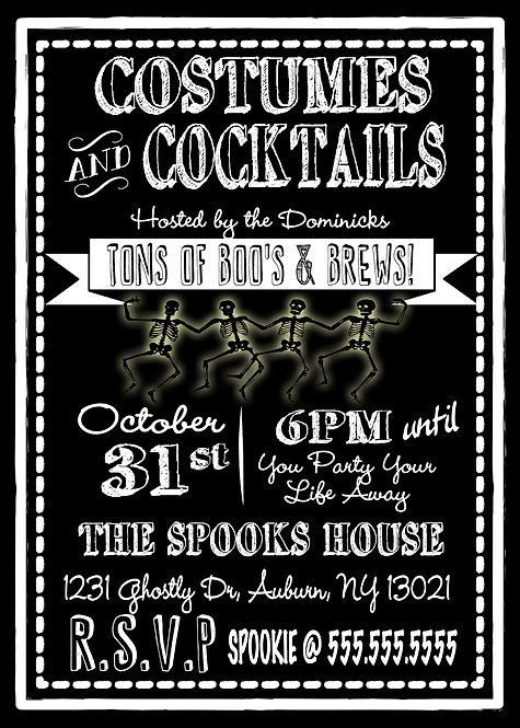 Boos & Brews Invitation