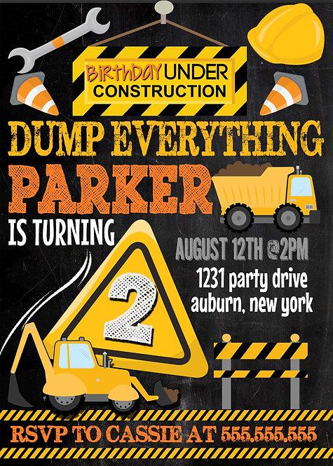 Construction Invite