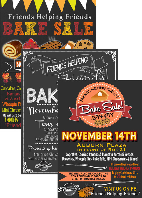 bake sale invitation