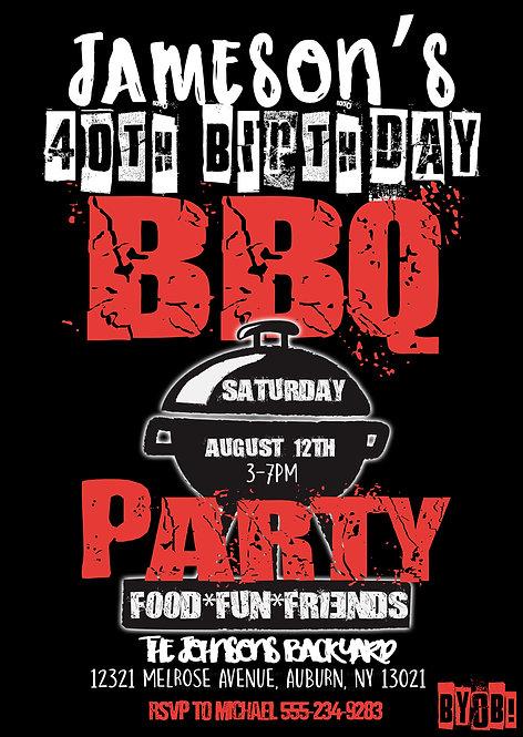 BBQ Birthday Party