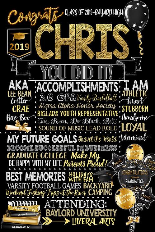 Best 2019 Grad PartySign
