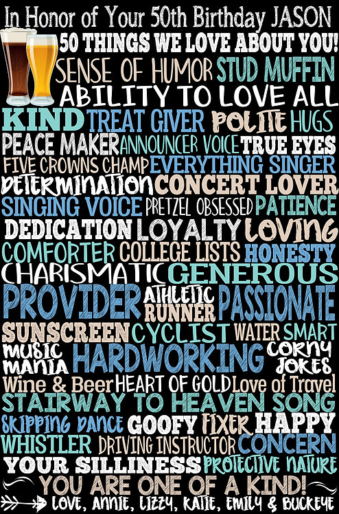 50 Things I Love About Him