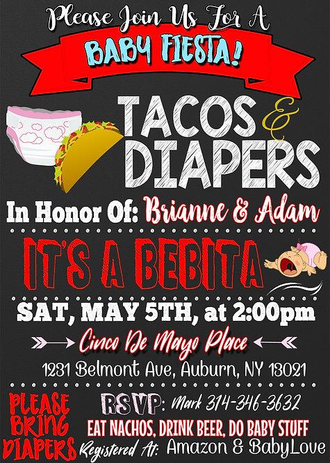 Baby Fiesta Invite