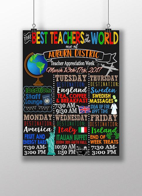Best Teachers in the World Week