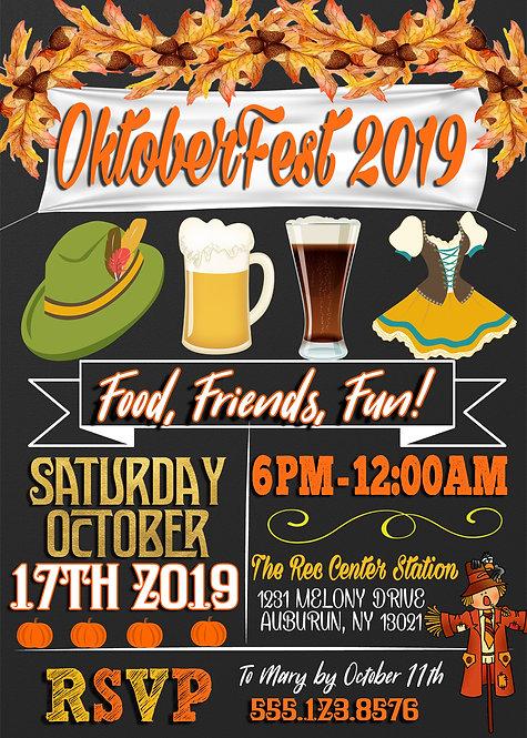 Popular Oktoberfest Invitations
