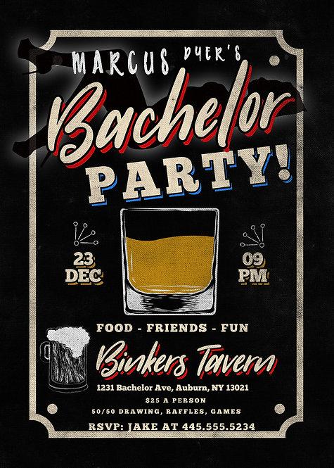 Whiskey Tasting Invite