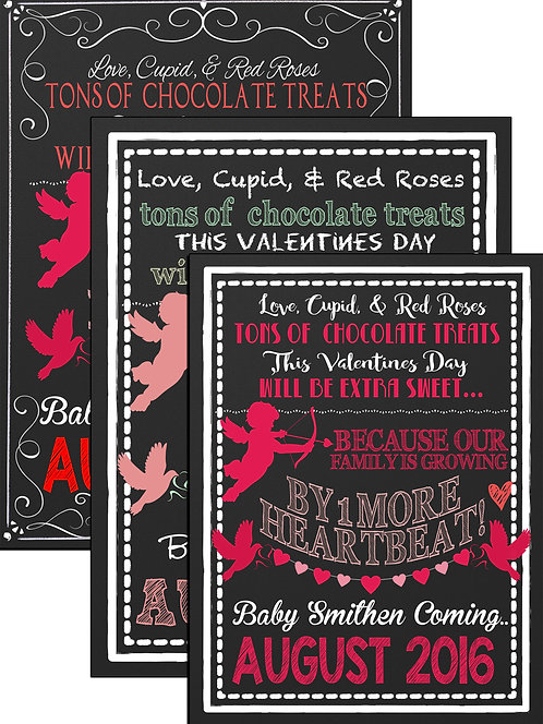 Valentines Day Pregnancy Sign