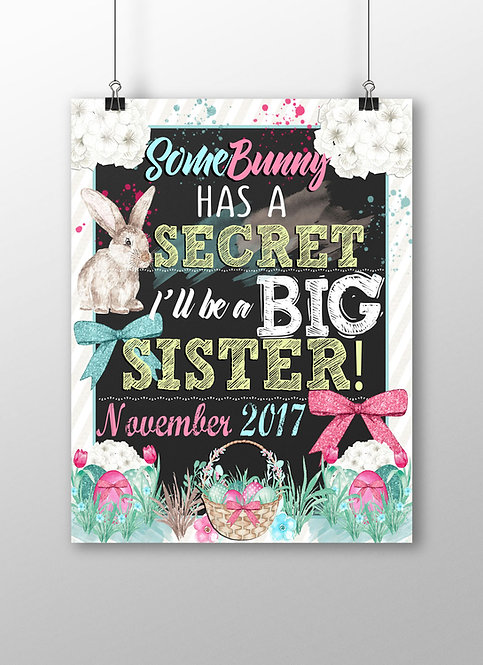 Some Bunny has a Secret