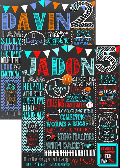 Boys Blue Birthday, Bunting
