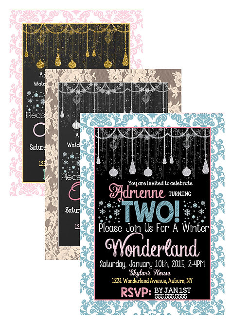 Girl Winter Wonderland
