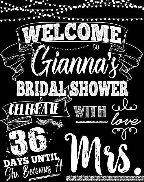 Days Until I Do Bridal