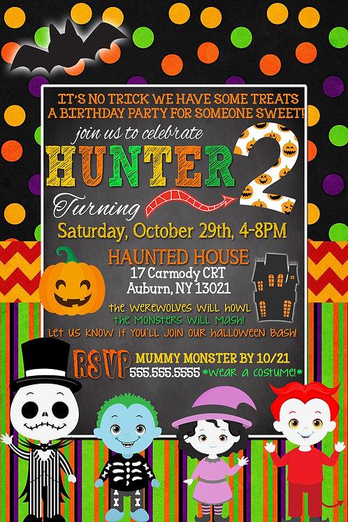 Monster Mash Invite