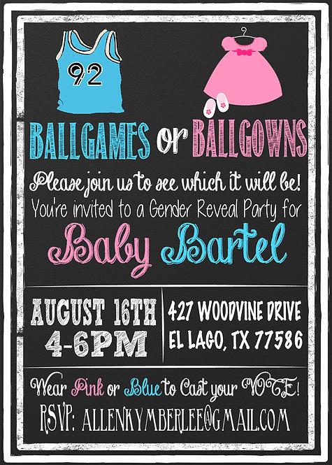 Ballgames BallGown Reveal