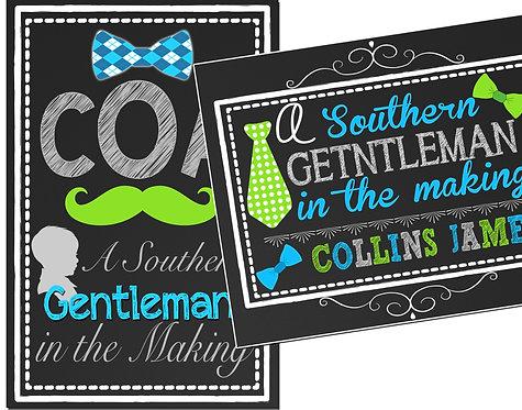 Southern Gentlemen in making