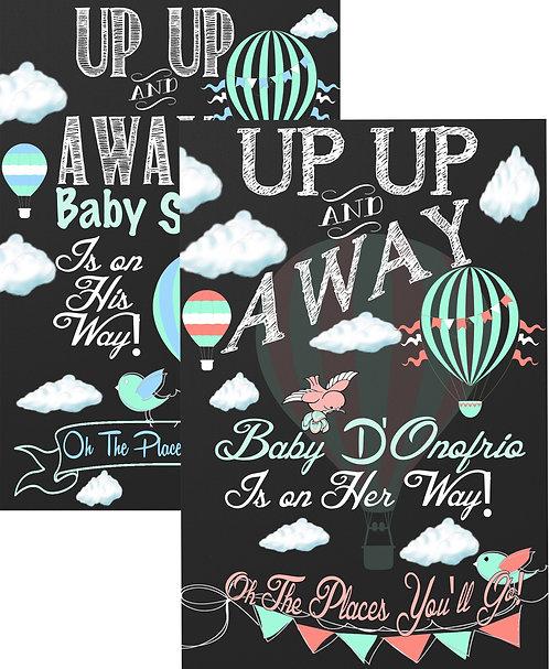 Up Up & Away pregnancy