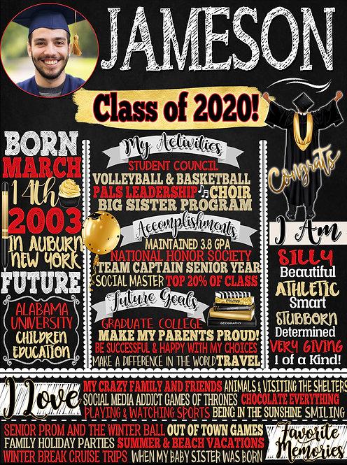 Boy Class of 2020