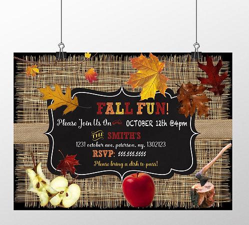 Burlap Fall Festival