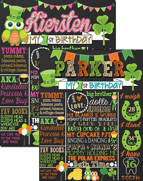 St. Patricks Day Birthday