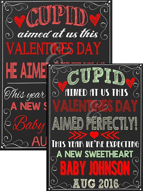 Cupid Pregnancy Announcement